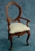 "1"" Scale Bespaq Dining Room Arm Chair"