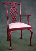 "Bespaq 1"" Scale Mahogany Dining Chair"