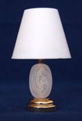 "1"" Scale Battery Operated Park Avenue Table Lamp"
