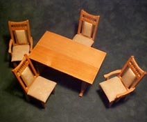"Townsquare 1"" Scale Five Piece Dining Set"
