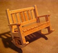 Townsquare 1/2&quot; Scale Double Patio Rocker