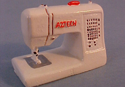 "1"" Scale Modern Sewing Machine"