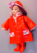 1&quot; Scale Rainy Dayz Kid in Red