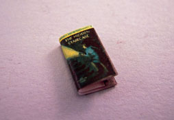 "1/2"" Scale Artisan Miniatures Hand Crafted Printed Book ""Nancy Drew"""