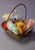 "1"" Scale Knitting Basket"