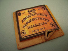 "Taylor Jade 1"" Scale Hand Crafted Wooden Ouija Board"
