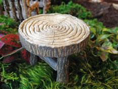 Fairy Garden Miniature Wooden Table