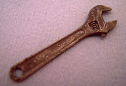 "Sir Thomas Thumb 1"" Scale Miniature Adjustable Wrench"