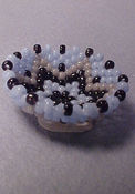 "Tucker's Tiny Treasures 1"" Scale Beaded Bowl"