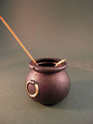 "Jan Smith 1"" Scale Filled Witch's Cauldron"