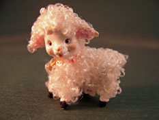 "World Of Miniature Bears 1"" Scale Toy Lamb"