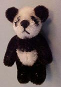 "World Of Miniature Bears 1"" Scale Panda"