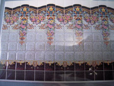 "1/2"" Scale World Model Italian Faux Wall Tile"