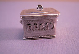 "Warwick Miniatures 1/2"" Scale Miniature Kitchen Bread Bin"