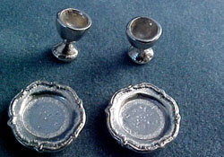 "Warwick 1/2"" Scale Plate and Goblet Set"