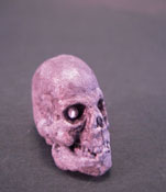 1&quot; Scale Spooky Skull with Sparkling Eyes