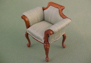 """s1911lgsnwn 1/2"""" scale green shoe dept chair"""