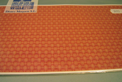 "wm24573 1/2"" scale sienna geometric wallpaper"