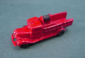 """2918 1"""" scale toy fire truck"""