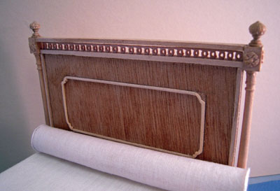 "Bespaq 1"" scale unfinished Classique Bed"