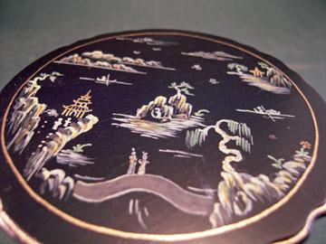 "7000bbs 1"" scale bespaq chinoiserie tea table"