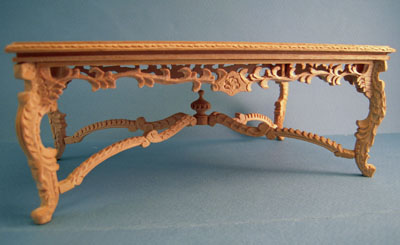 """1"""" scale Bespaq unfinished Crown Royal Banquet Table"""