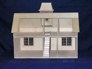 """815 1"""" scale alessio miniature country house"""
