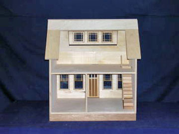"830 1"" scale alessio miniatures assembled bungalow"