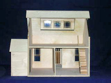 "831 1"" Scale Alessio E End Bungalow Dollhouse"