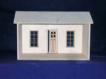 "840 1"" scale alessio miniatures assembled florida bungalow"