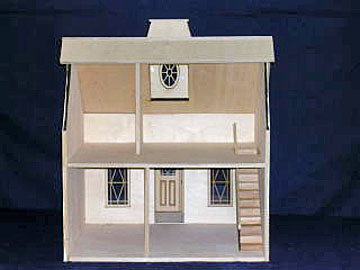 "851 1"" scale alessio denny's cottage dollhouse"