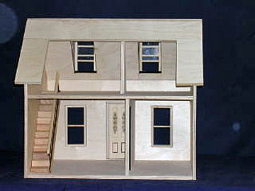 "852 1"" scale alessio brielle's cottage dollhouse"