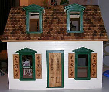 "852 alessio 1"" scale brielle's cottage dollhouse"