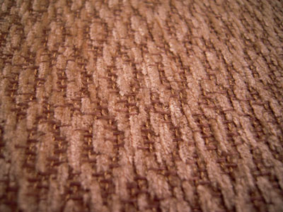 "Miniscules 1"" scale gold textured wall to wall carpet"