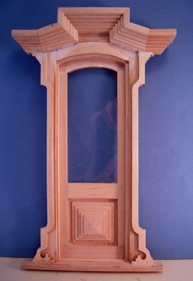 "Bespaq 1"" scale Victorian Single Door"