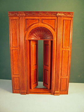 "9102nwn 1"" scale bespaq manor door unit"