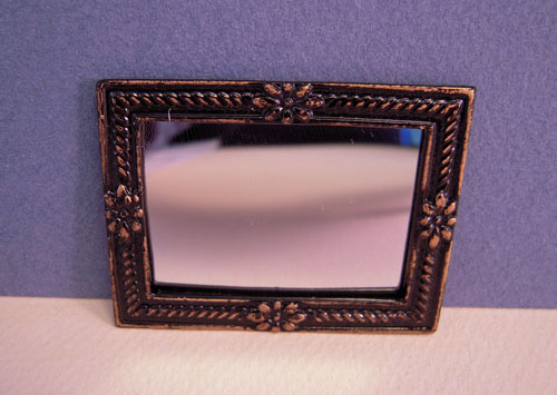 Island Crafts Decorative Framed Wall Mirror 1:12 scale