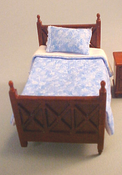 "1/2"" scale lees line spice single bed set"
