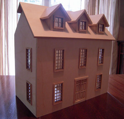 "Alessio Miniature 1/2"" scale Colonial Country Manor"