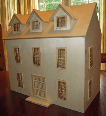 "1/2"" scale Colonial Country Manor by Alessio Miniatures"