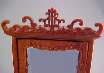 "1/2"" Scale Mniature Fantasy Armoire by Besbaq S3547NWN"