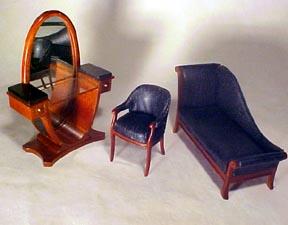 Bespaq Art Deco Vanity Set
