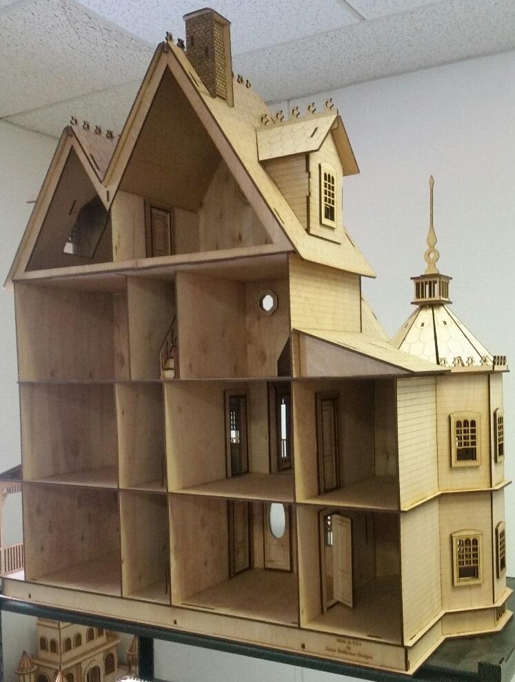 Ashley Victorian Dollhouse in 1:12 Scale