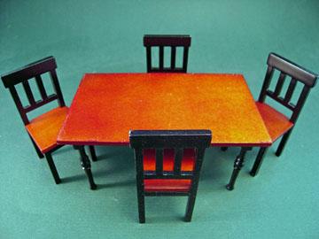 "b130-131 1"" scale bren dining set"