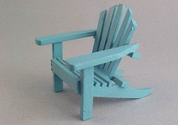cah-162b blue adirondack chair