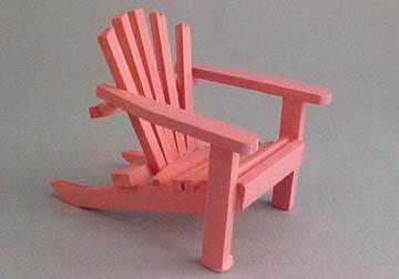 cah-162p pink adirondack chair