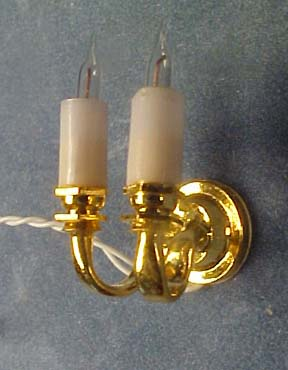 "ck2601 1/2"" double candle sconce"