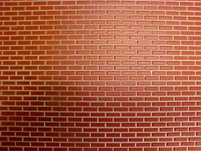 1/2 Scale Brick Wall Covering Miniature H8208