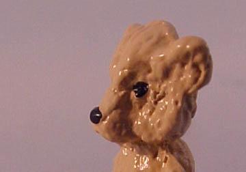 """da1212 1"""" scale tan teddy bear"""