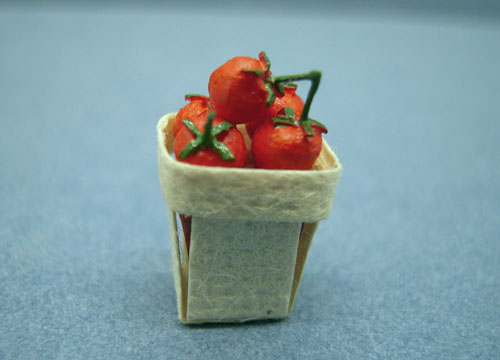 Falcon Basket Of Strawberries 1:12 scale